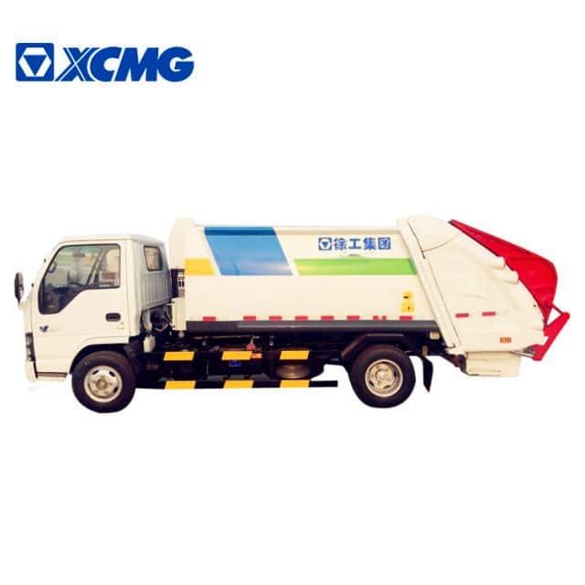 XCMG official new XZJ5120ZYSD5 compressed trucks garbage price