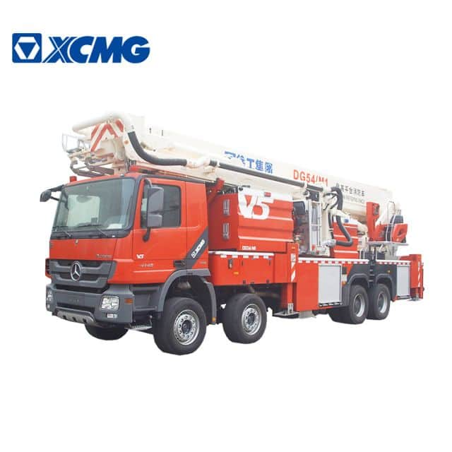 XCMG 54m fire fighting truck DG54M1 hydraulic aerial platform fire truck with Benz chassis for sale