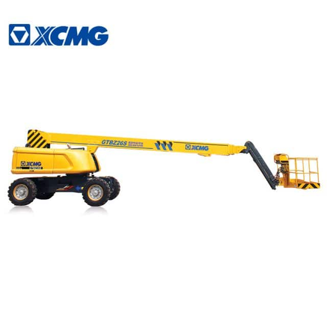XCMG official manufacturer 26m self-propelled hydraulic telescopic boom lift GTBZ26S aerial vertical work platform for sale