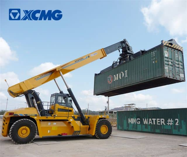 XCMG official reach stacker XCS45U China new 45 ton stacker reach for containers reach stacker price