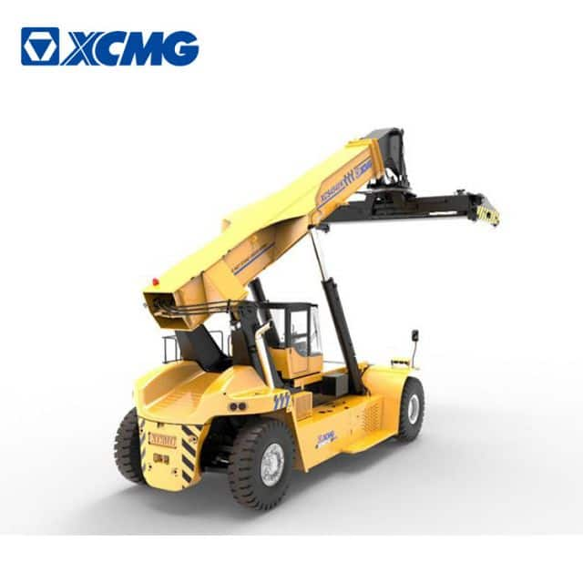 XCMG 20ft 40ft mobile crane XCS4541K 45 ton reach stacker for containers forklift for sale