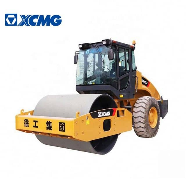 XCMG Official road roller vibratory XS163J 16 ton roller compactor machine for sale