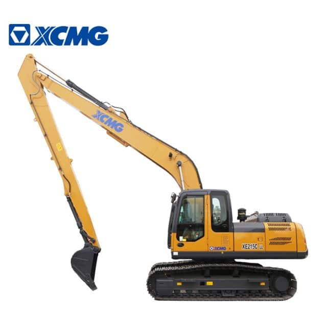 XCMG XE215CLL New 20t Long Boom Excavator For Sale