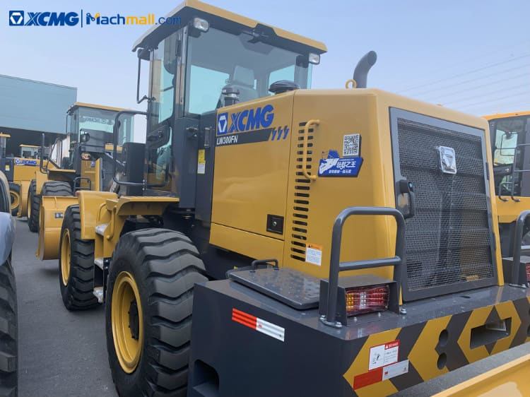 XCMG loader LW300FN 2.5m3 92kw 3 ton loader for sale