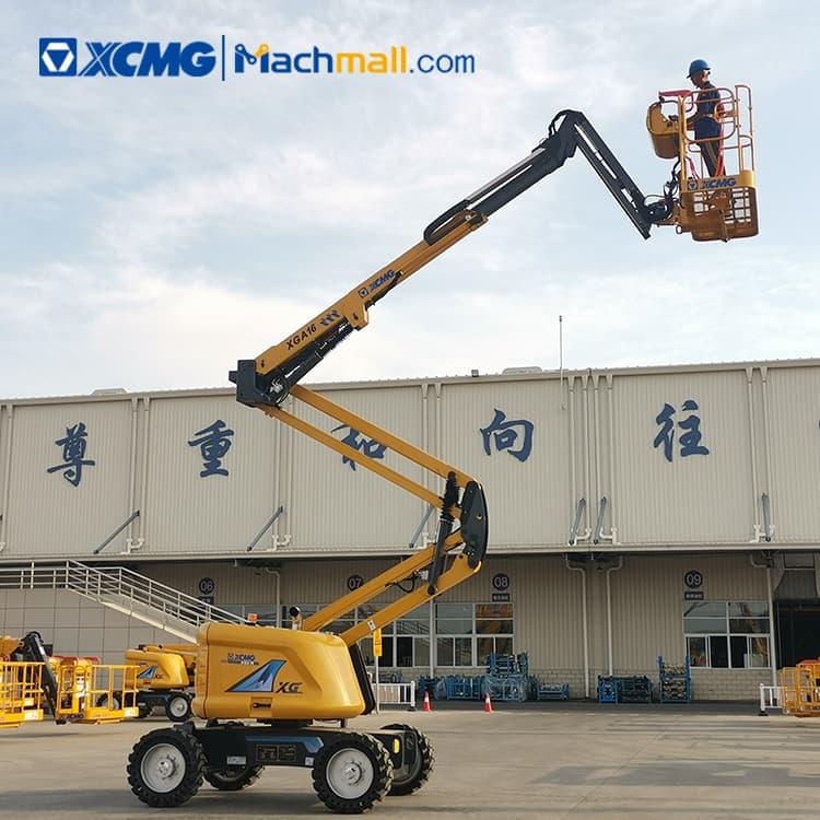16m XCMG mobile electric lift platform XGA16 price