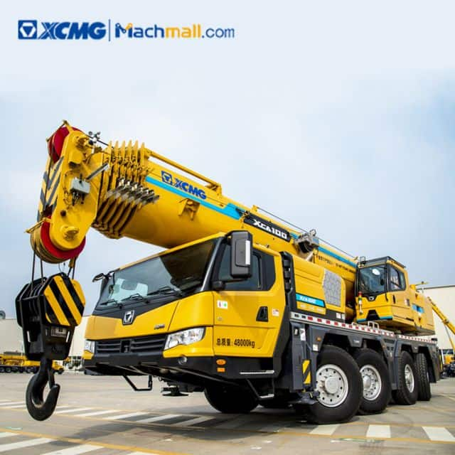 XCMG official 100 ton all terrain crane XCA100 with CE for sale