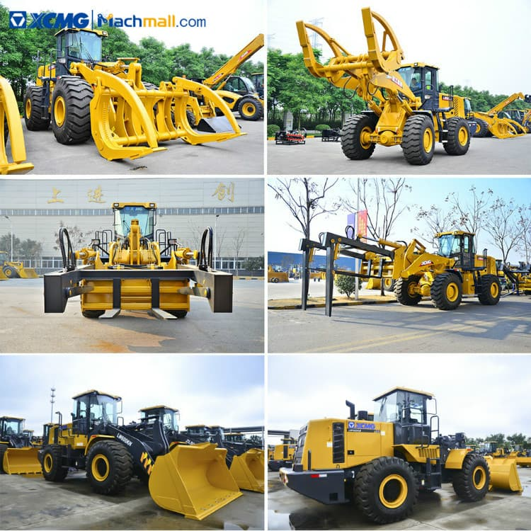 LW600KN front loader for sale   XCMG 178kw 4.5m3 6 ton wheel loader price