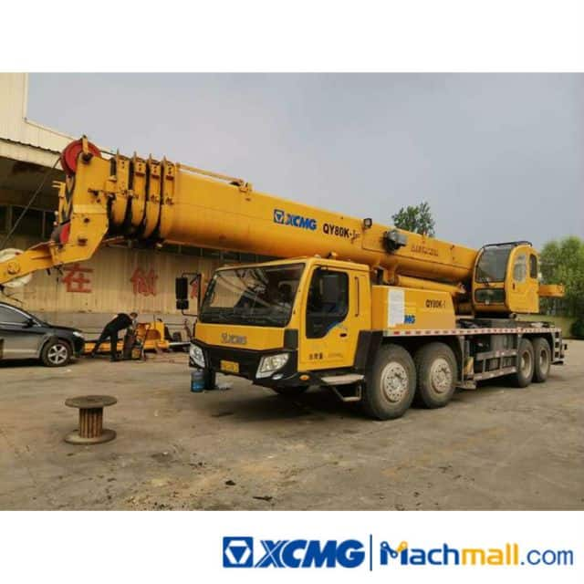 XCMG factory QY70K-I 70 Ton Used Truck Crane For Sale
