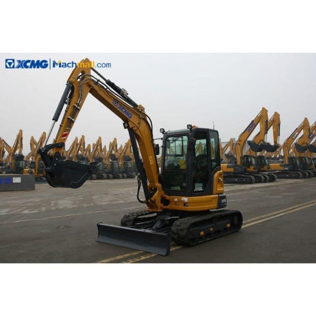 XCMG 5 ton small excavator machine XE55E ( (Euro Stage V) ) for European market price