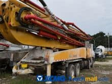 China XCMG 56m HB56 Used Concrete Pump Truck For Sale