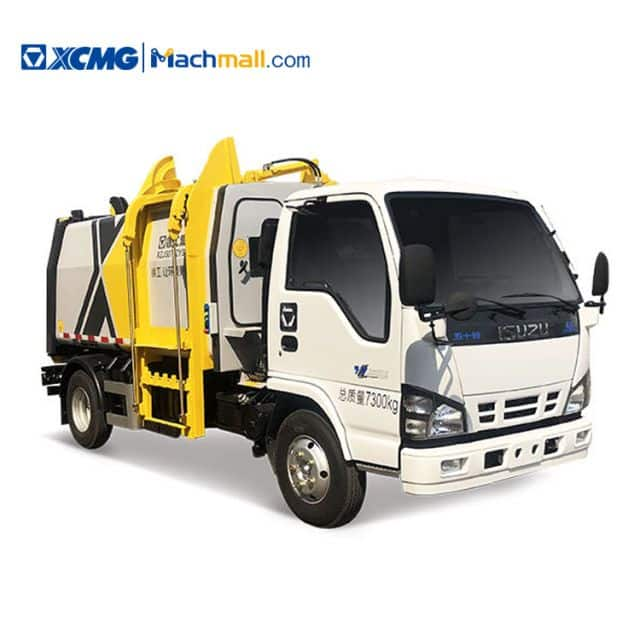 XCMG 5 cubic meter Side Loading Garbage Truck XGH5071ZYSQ6 For Sale
