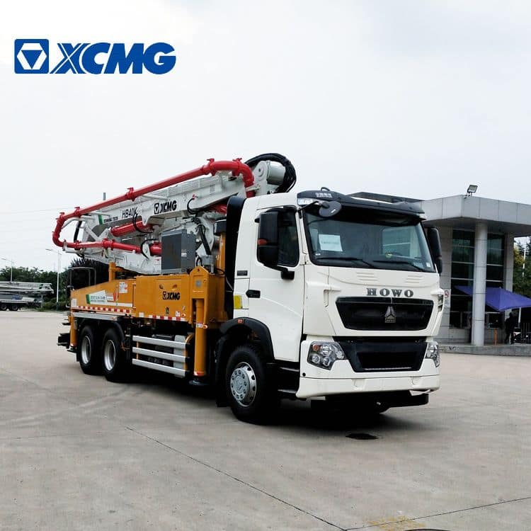 XCMG Official HB40V 40m New Cement Concrete Pump Truck for Sale