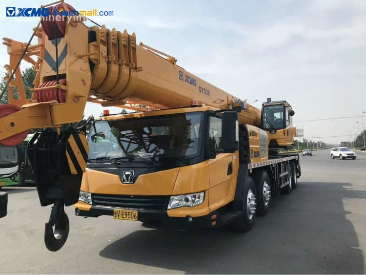 XCMG QY50K truck crane 50 ton for sale