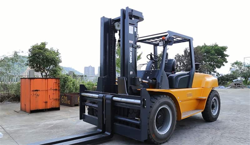 XCMG factory new diesel forklift 8 Ton FD80T for sale