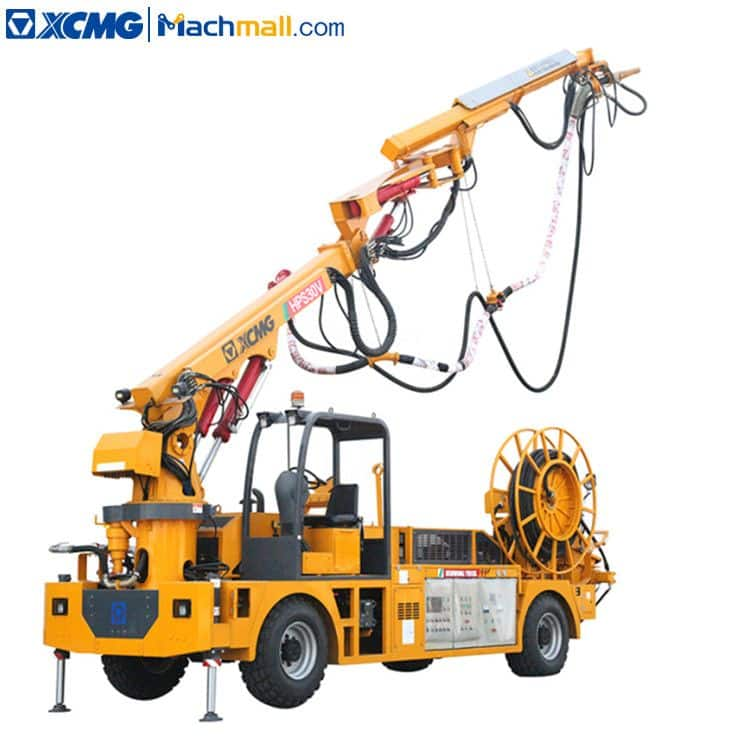 Cement spraying truck XCMG HPS30V 30 cubic meters for sale