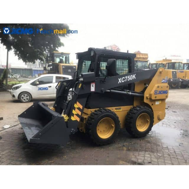 Chinese mini skid loader with skid loader attachment price