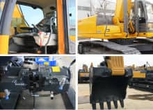 XCMG Factory 30 Ton Escavatore XE335C Chinese Crawler Excavator Price