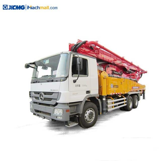 HB50V XCMG 50 meters china concrete pump with Benz chassis price