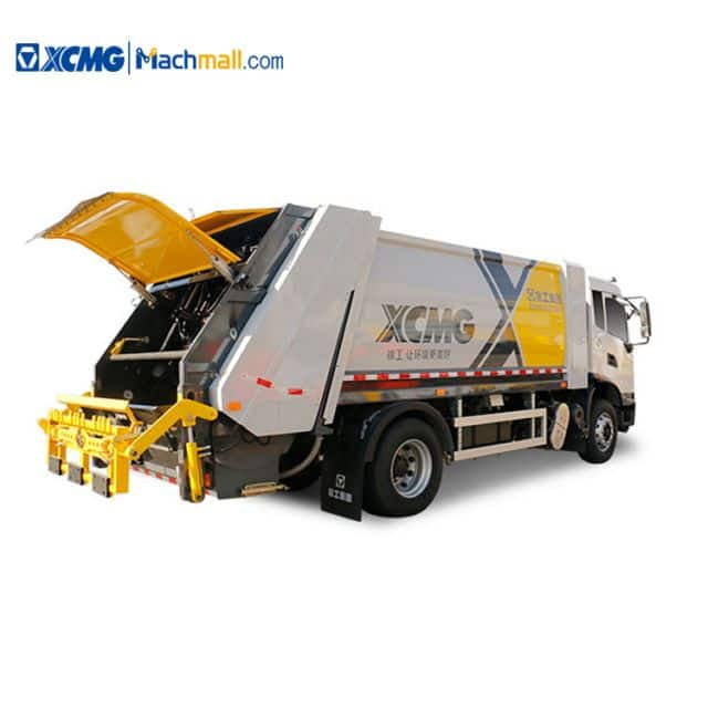 XCMG 15 cbm Compressed Garbage Truck For North American Market price