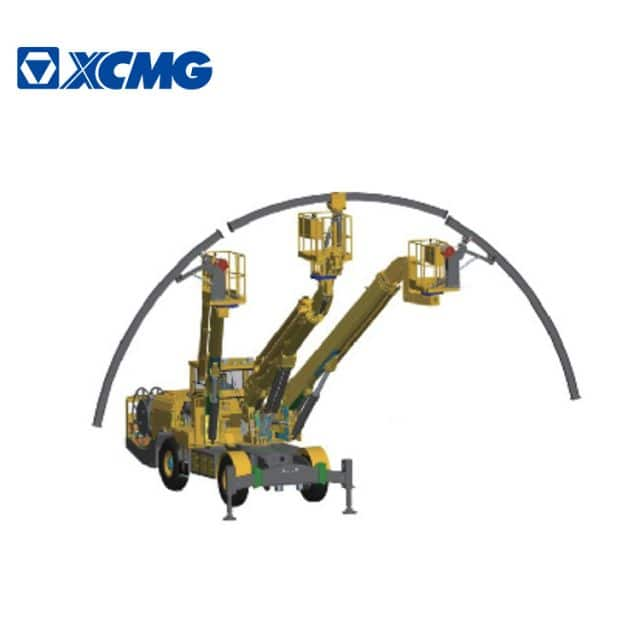 XCMG Arch Installation Trolley TGC1300 Three Boom Robot Arch Mounting Trolley Price