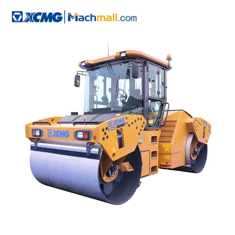XCMG 14 ton double drum road roller XD143S price