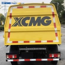 XCMG 3 ton mini Detachable Container Compactor Garbage Truck for sale