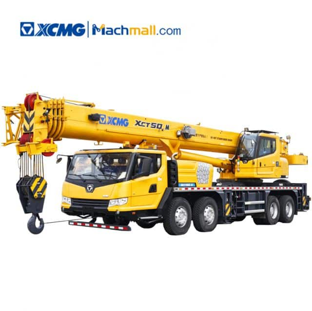 XCMG 50 ton mobile truck crane XCT50_M for sale