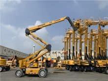 XCMG 20m articulated boom lift XGA20AC China new electric  mobile aerial work platform price