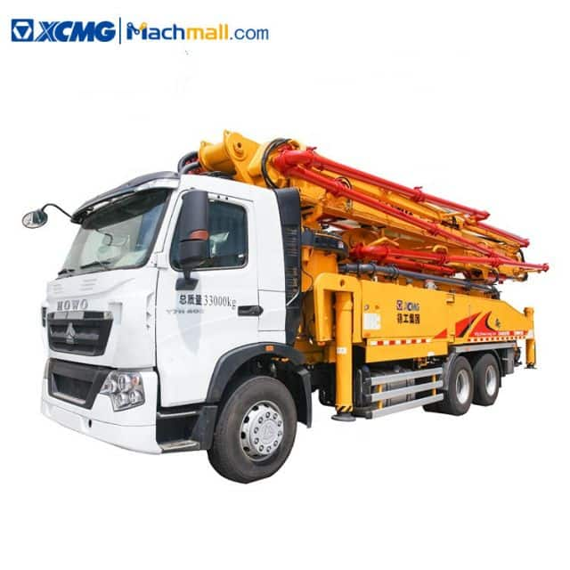 HB50V XCMG new truck concrete pump with HOWO chassis for sale