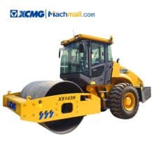 14 tons road roller XS143H XCMG single drum roller price