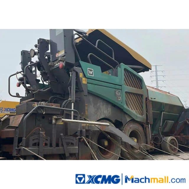 XCMG Used 4.5m Paver RP453LS 2019 Mini Road Paver Machine For Sale