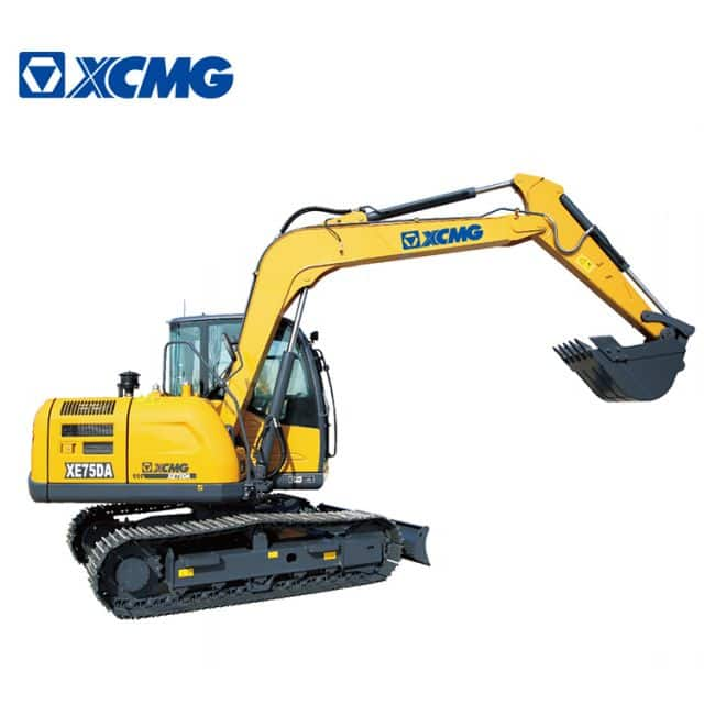 XCMG XE75DA Chinese 8 Ton Multifunction Small Hydraulic Excavators for sale