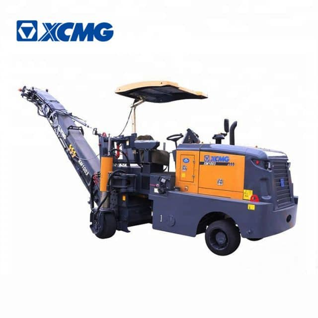 XCMG official 1020mm XM101K mini road cold planer asphalt milling machine price