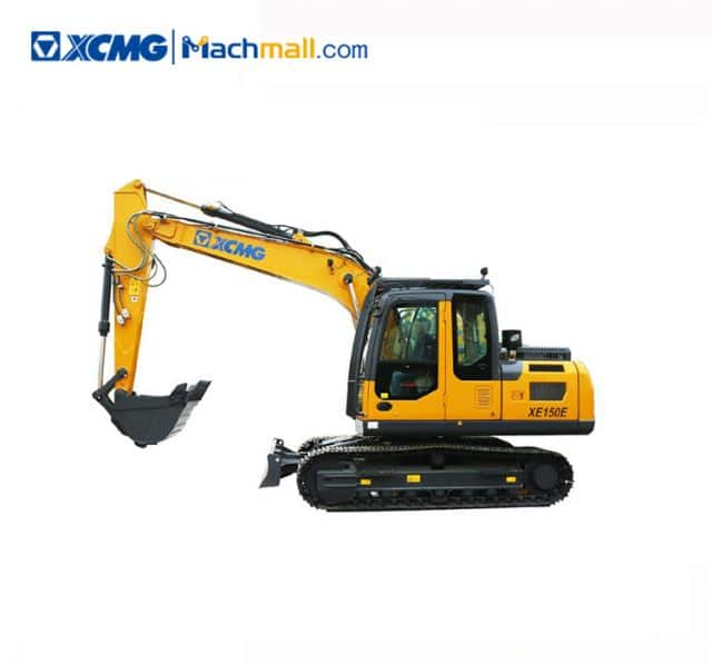 XCMG XE150E Chinese 15 Ton Crawler Excavator Machine For Sale
