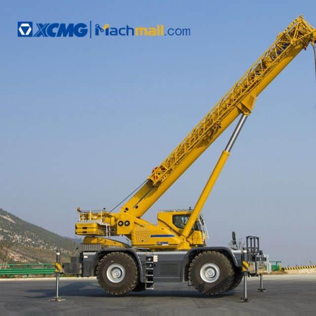 XCMG 50 ton China pickup rough terrain crane XCR55L4 for sale