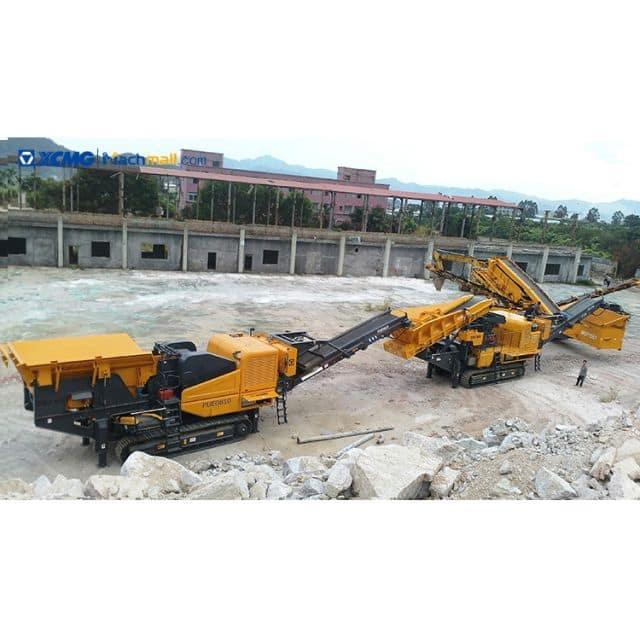 XCMG pe 760*1000 small jaw crusher mobile stone crusher line XPE0810 price
