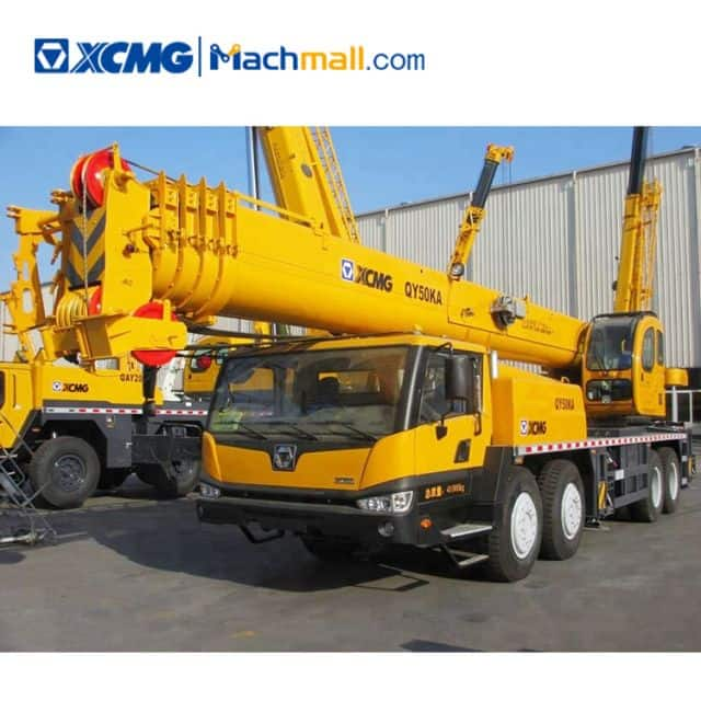 XCMG official 50 ton truck cranes QY50KA for sale