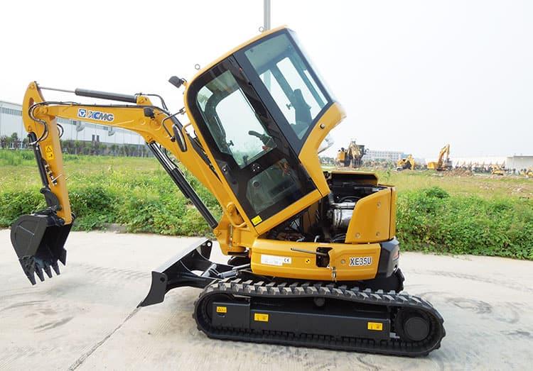 XCMG manufacturer XE35U 3.5 ton mini excavator machine price