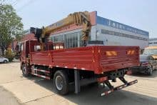 XCMG Official 8 Ton Small Truck Mount Crane SQS200-4 China Pickup Truck Mounted Crane for Sale