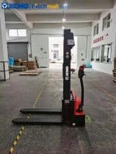 XCMG XCS-PW20 2 ton stand-on electrical pallet stacker with accumulator price