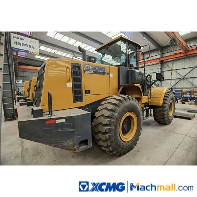 XCMG Used 6 Ton Fornt Wheel Loader LW600FV For Sale