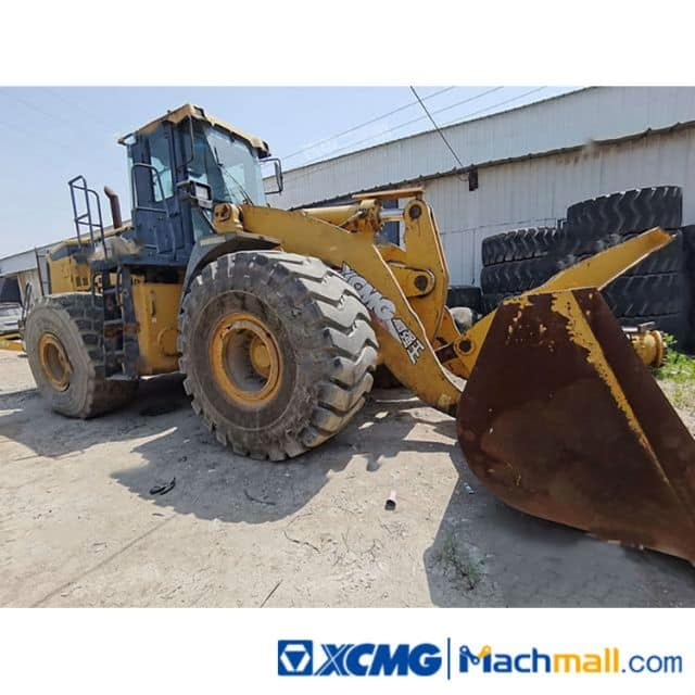 XCMG Used 9t Giant Wheel Loader Machines LW900K For Sale