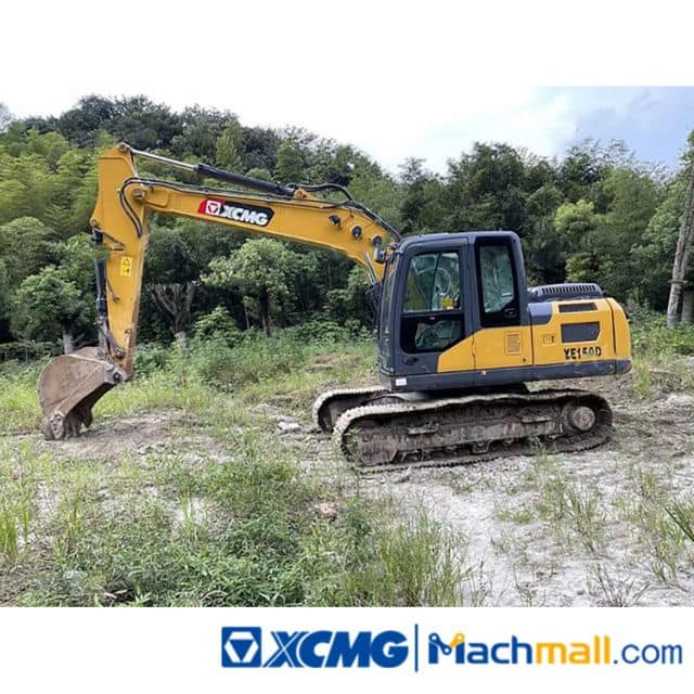 XCMG Machine 15t XE150D Used Crawler Excavator For Sale
