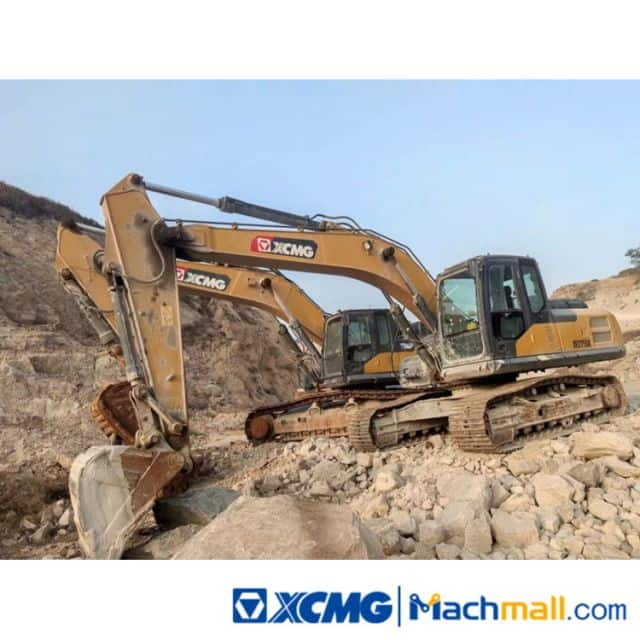 XCMG 22t XE225DK 2019 Used Excavator Machine For Sale