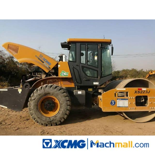 XCMG XS223J Used Single Drum Road Roller Machine For Sale