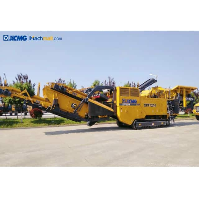 XCMG pe 1200*1280 mobile granite limestone rock jaw crushers machine XPF1214 price