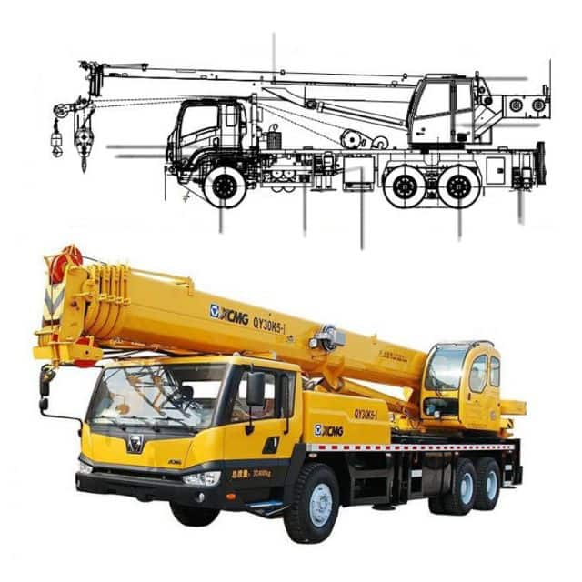 List of Consumable Spare Parts of XCMG QY30KA Truck Crane