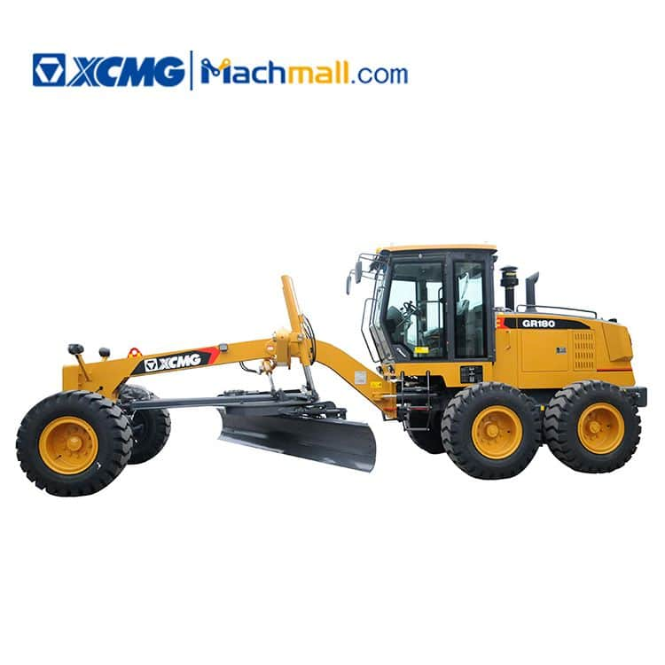 XCMG factory motor grader GR180 with ripper and blade for sale