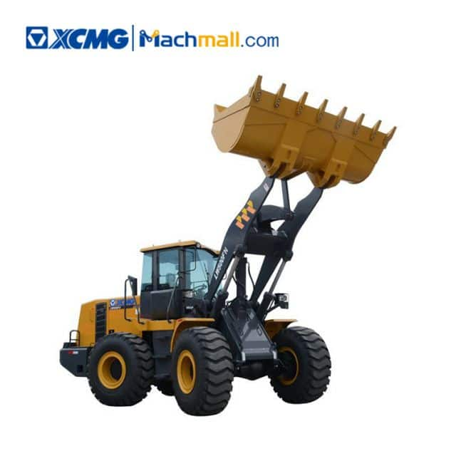 XCMG 5 ton bucket loader LW500FN with catalog PDF