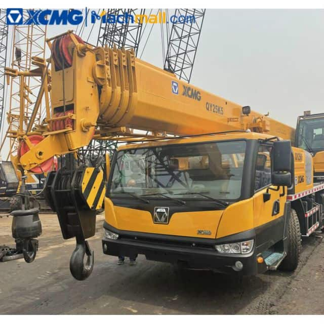 XCMG 25 Ton Used Truck Crane QY25K5 For Sale